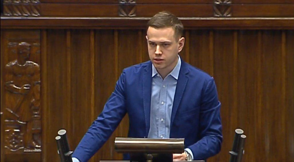 Michał Kabaciński z Ruchu Palikota