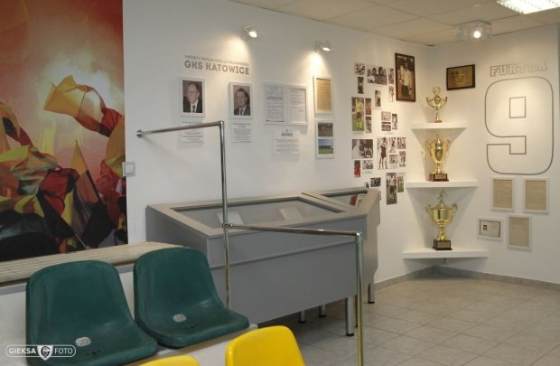 Muzeum GKS Katowice na stadionie na Bukowej