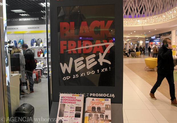 Black Friday w Wola Parku