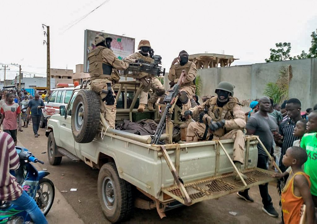 Wojskowy zamach stanu w Mali