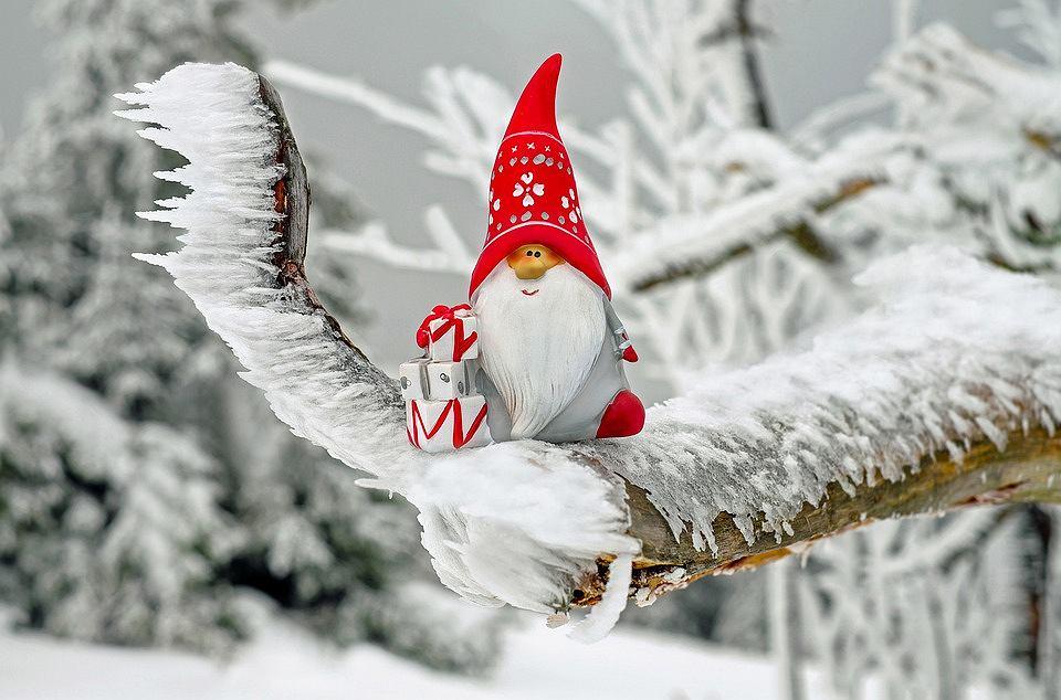 Figurka Świętego Mikołaja