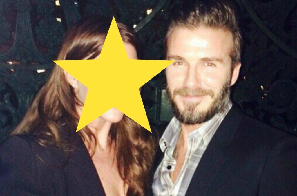 Joanne Beckham, David Beckham