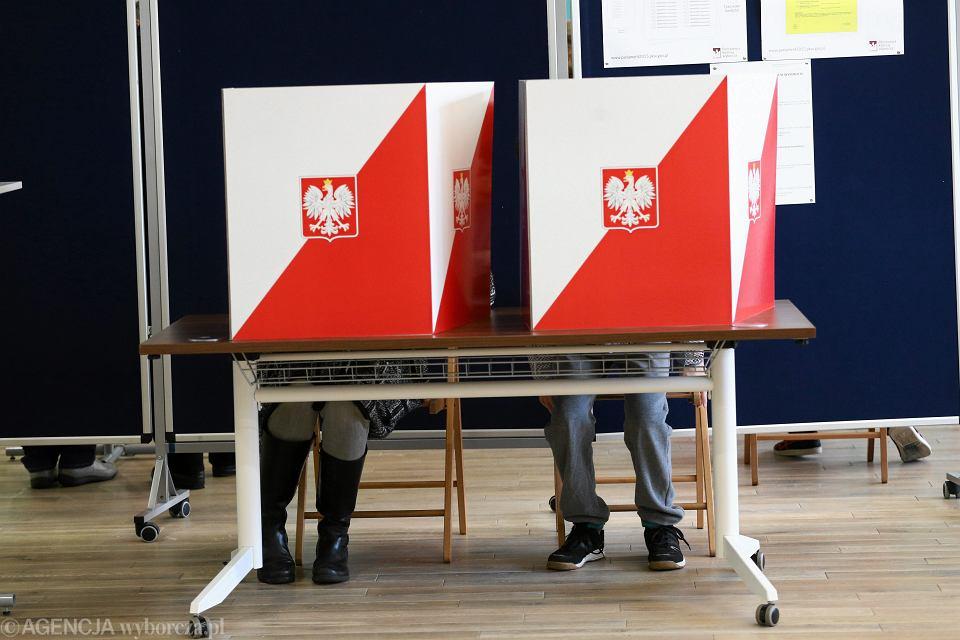 Głosowanie w wyborach parlamentarnych, Warszawa 25.10.2015