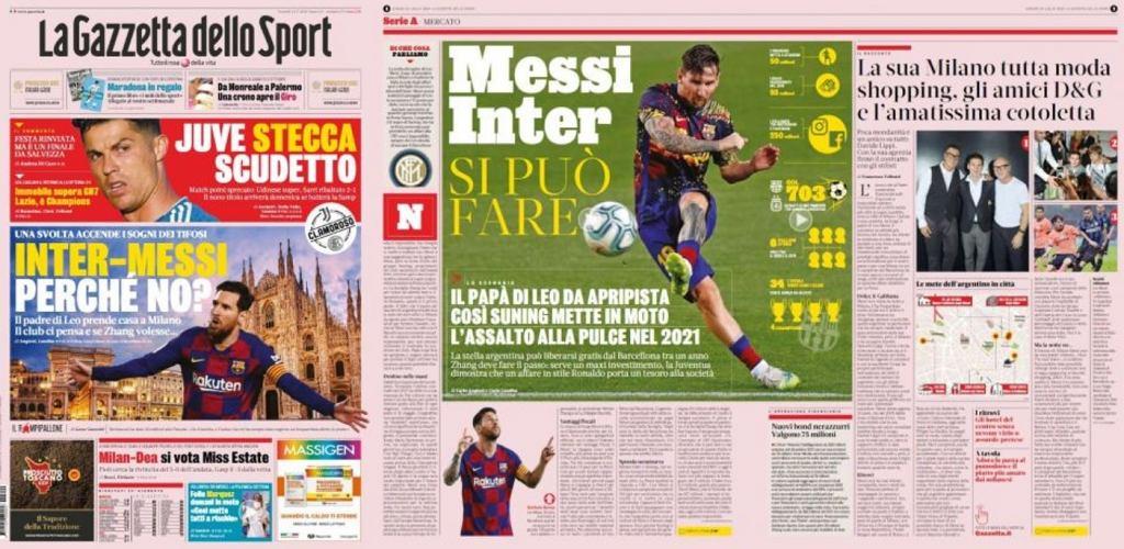 Messi w Interze?