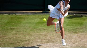 Christina McHale w meczu z Agnieszką Radwańską