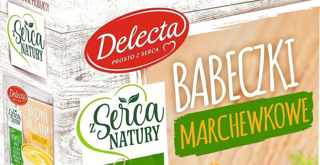 Babeczki marchewkowe Delecta