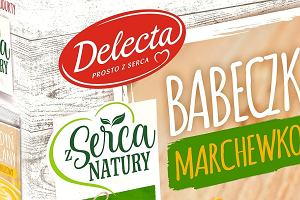 Delecta poleca nowe Babeczki marchewkowe