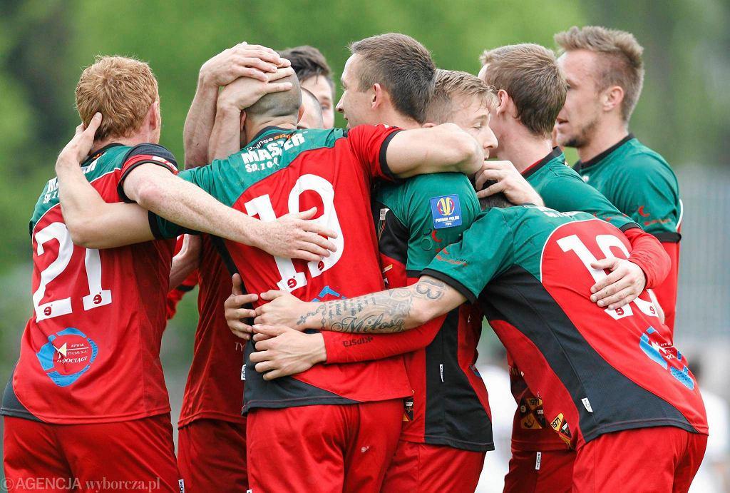 Piłkarze GKS-u Tychy mają powody do radości