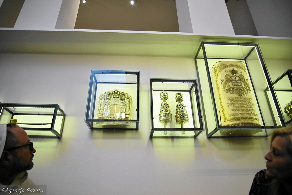 Wystawa 'Bejt tfila - dom modlitwy' w Żydowskim Instytucie Historycznym