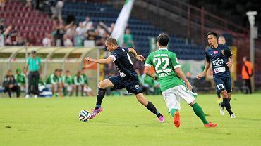 Rafał Murawski (w meczu z Werderem)