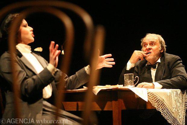 'After Play' - spektakl Białostockiego Teatru Lalek, w którym grają Sylwia janowicz-Dobrowolska i Ryszard Doliński