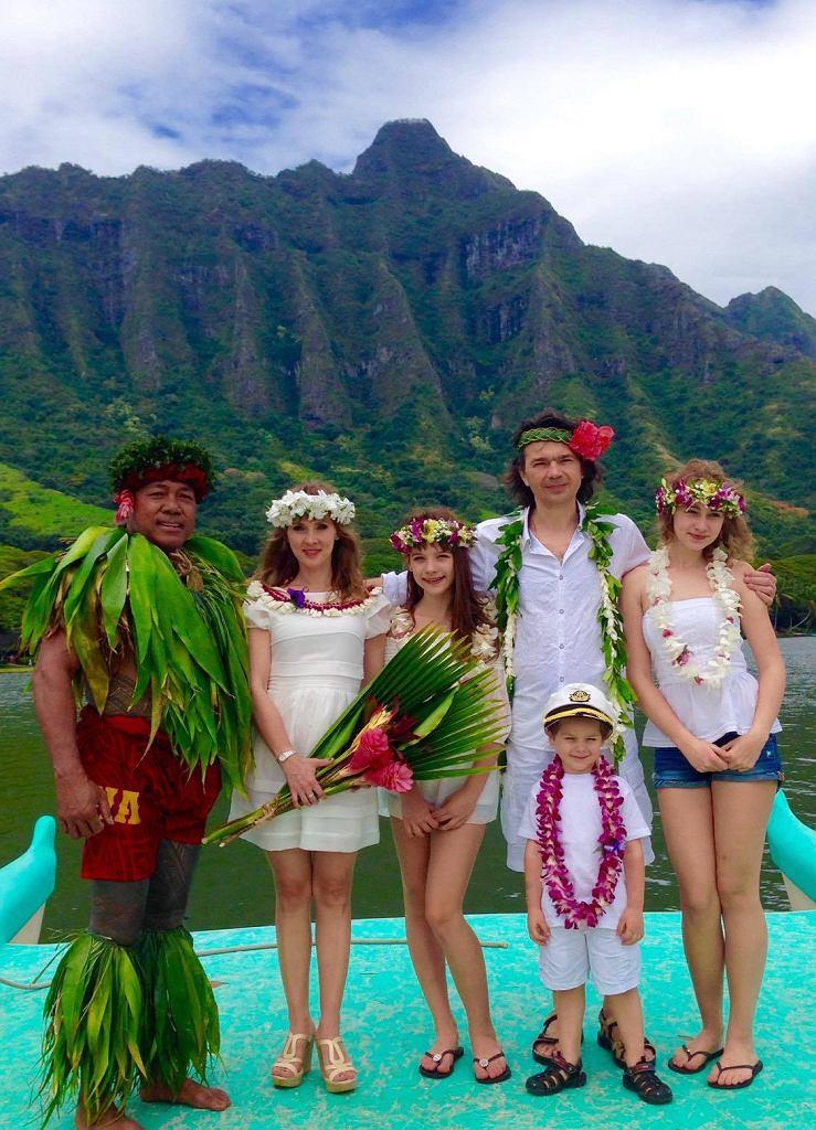 Cezary z Martą wrócili na Hawaje po 15 latach