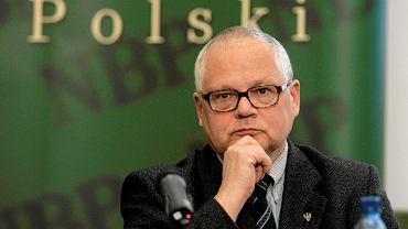 Kandydat na szefa NBP Adam Glapiński
