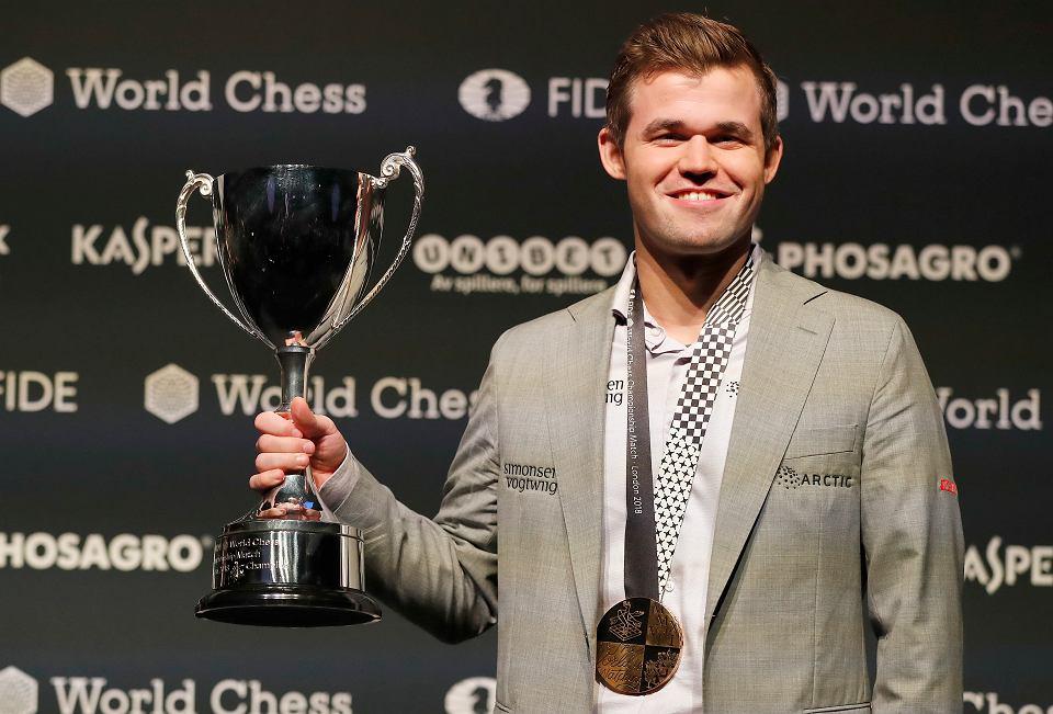 Magnus Carlsen jako mistrz świata. Znów