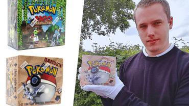 Pudełka kart Pokémon sprzedane za równowartość 100 tys. złotych
