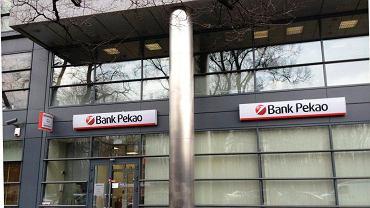 Jeden z oddziałów Banku Pekao