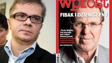 Sylwester Latkowski i Wojciech Fibak