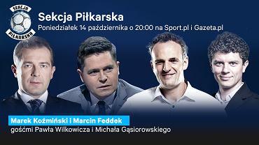 Marek Koźmiński i Marcin Feddek gośćmi Sekcji Piłkarskiej