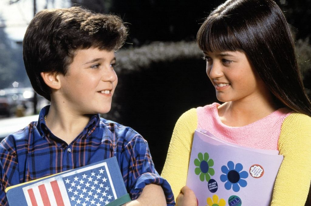 Fred Savage i Danica McKellar w serialu 'Cudowne lata'