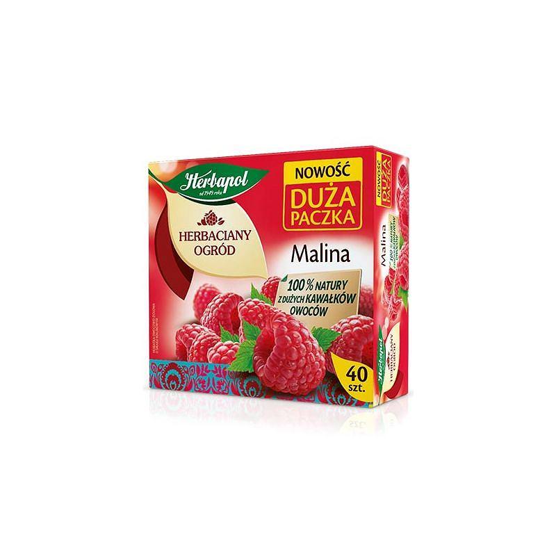 Rozgrzewające nowości na zimę od marki Herbapol - Herbatka Malinowa w dużym, rodzinnym opakowaniu