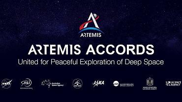 NASA. Osiem krajów podpisało traktat Artemis o pokoju na Księżycu