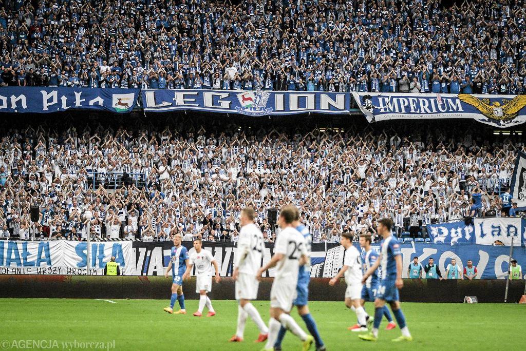 Lech Poznań - Pogoń Szczecin 1:0. Kibice Lecha