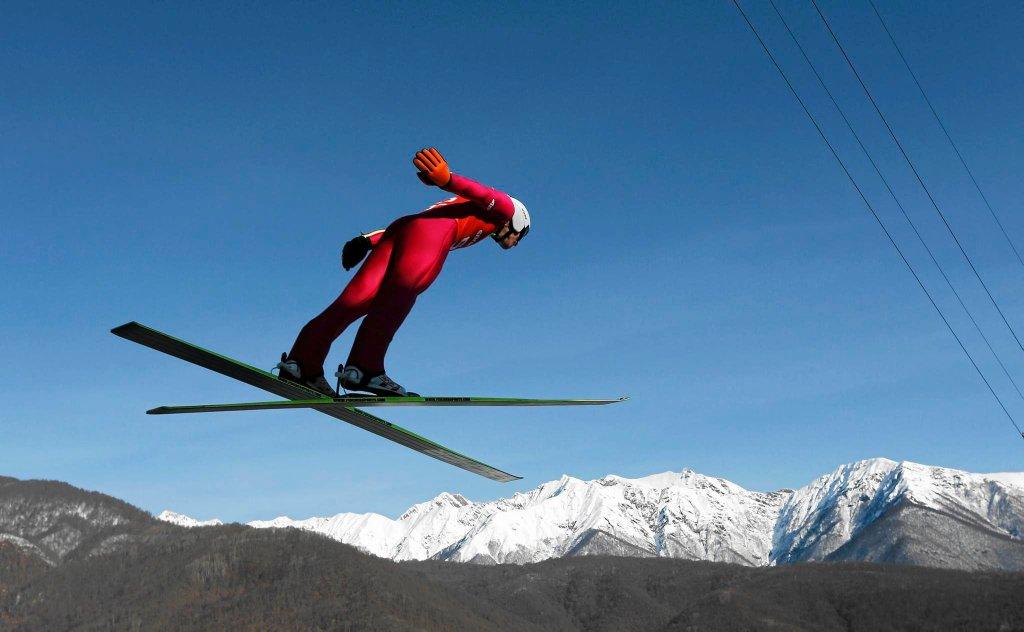 Piotr Żyła na igrzyskach olimpijskich w Soczi