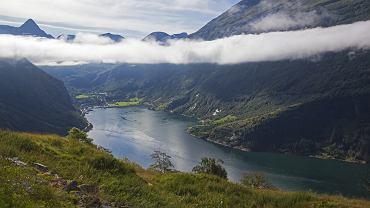 Geirangerfjord to jeden z najsłynniejszych fiordów w Norwegii