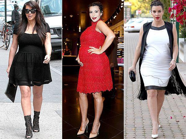 Kim kardashian w ciąży