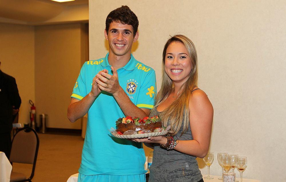 Oscar i jego żona, która urządziła mu urodzinową niespodziankę