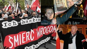 Partia rządząca od lat toleruje marsze ONR oraz wystąpienia Jacka Międlara i Piotra Rybaka