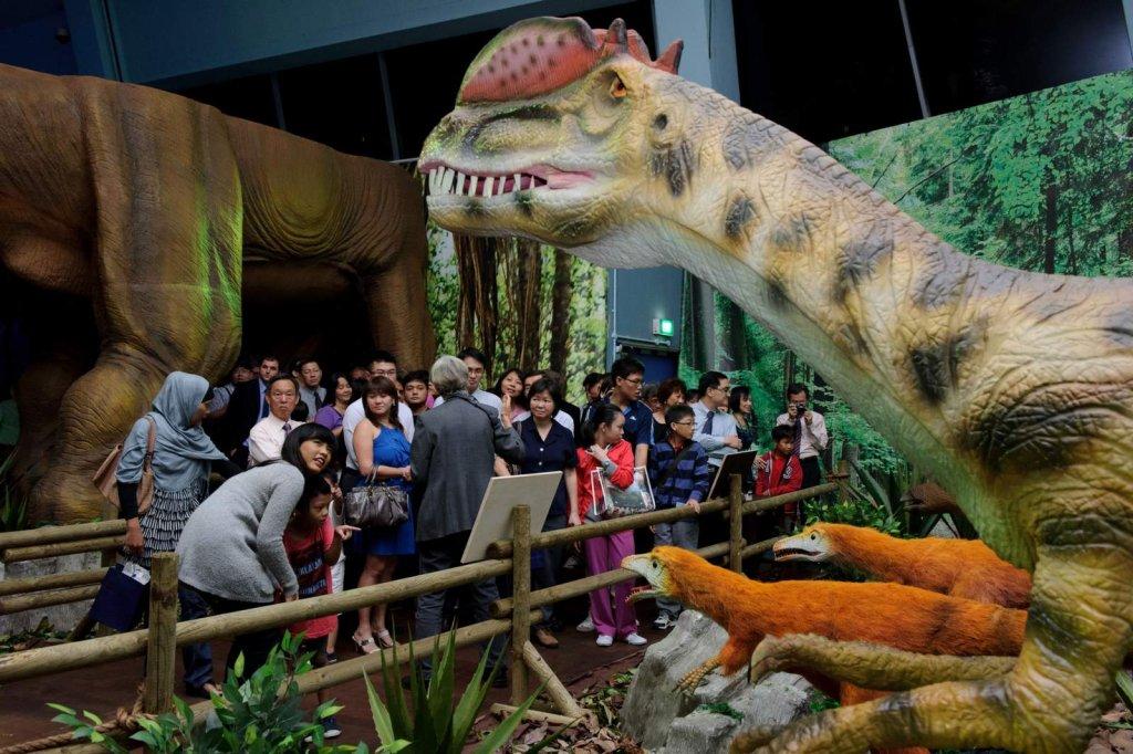 Wystawa 'Dinozaury na żywo'