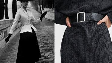 Projekt Christiana Diora i sukienka z nowej kolekcji Zara (109 zł)