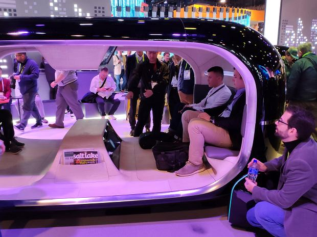Futurystyczne samochody na targach CES 2019 w Las Vegas