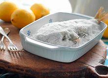 Ryba pieczona w soli - ugotuj