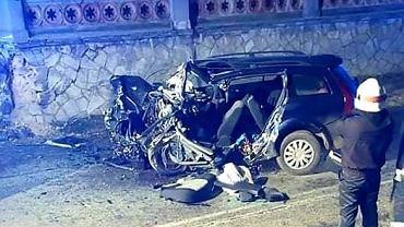 Wypadek w powiecie strzelińskim (Facebook/@strzelin998)