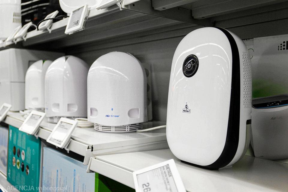 Oczyszczacze powietrza pozwolą nam zdrowo oddychać w zamkniętych pomieszczeniach, w których przebywamy średnio 90 proc. czasu