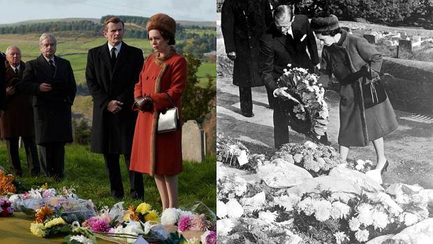 Królowa Elżbieta w Aberfan