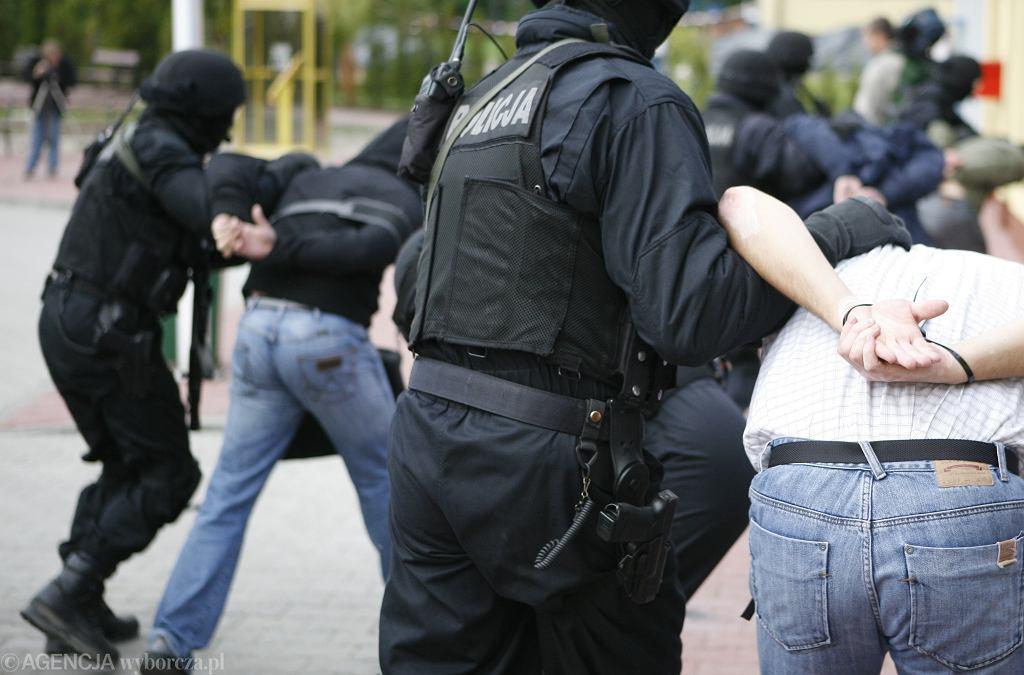 Pozorowany atak terrorystyczny, zdj. ilustracyjne