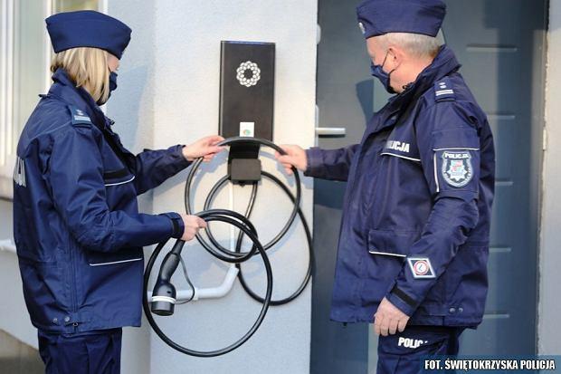 Elektryczne radiowozy Kia e-Niro