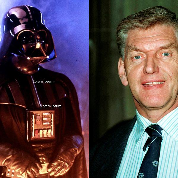 Darth Vader był najbardziej znaną rolą Davida Prowse'a