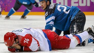 Rosja - Finlandia 1:3 w ćwierćfinale turnieju w Soczi