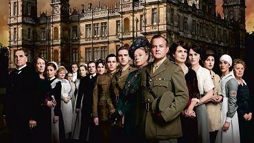 Mieszkańcy Downton Abbey w komplecie. Służba oczywiście na drugim planie
