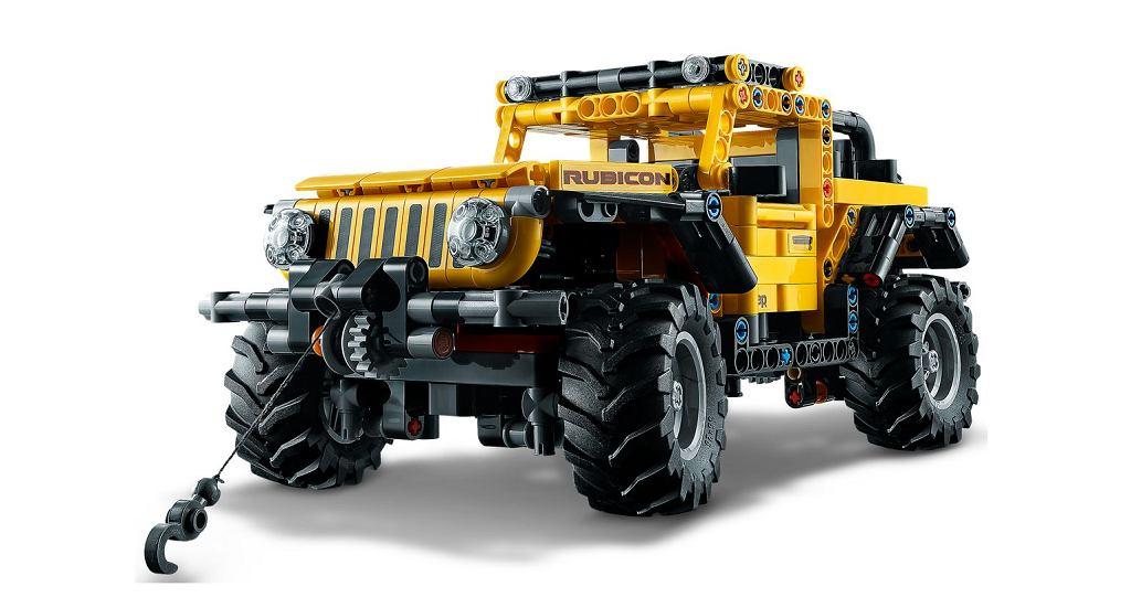Jeep Wrangler Rubicon - klocki Lego Technic