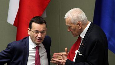 Mateusz i kornel Morawieccy. 35 posiedzenie Sejmu VIII Kadencji, Warszawa, 9 lutego 2017
