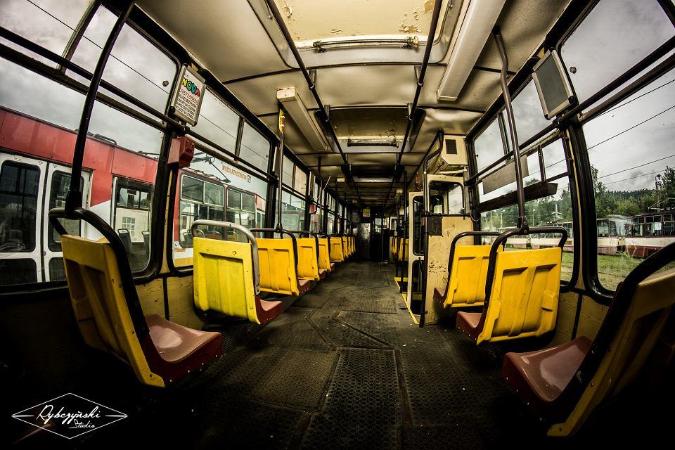 Zabytkowe tramwaje z Gorzowa na zdjęciach Michała Rybczyńskiego