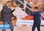Po Kliczce... Fornalik. Krakowski bokser dał lekcję trenerowi reprezentacji Polski [WIDEO]