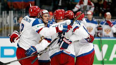 Radość rosyjskich hokeistów