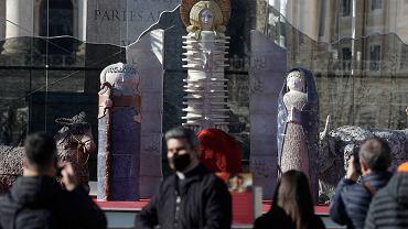 Szopka bożonarodzeniowa, która stanęła w Watykanie