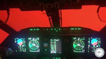 Czerwone niebo nad płonącą Australią